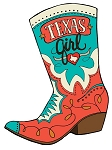 Texas Girl Cowboy Boot
