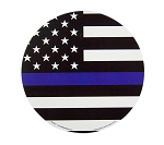 Police Officer American Flag