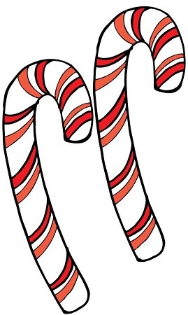 Candy Canes, Pack of 2