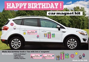 Deck the whole car for the special birthday with our birthday package.